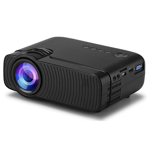 Wifi Projector, Native 720P HD Projector, 3500 Lumen 230' Portable Movie Projector, Compatible with TV Stick, HDMI, VGA, USB, Laptop, Ios Android