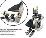 Toolpost mini slitta verticale con 5,1cm/50mm acciaio vice-instant fresatura per piccole Bench torni