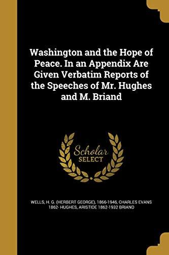 WASHINGTON & THE HOPE OF PEACE