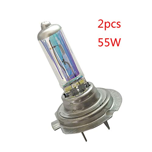 WDFVGEE 2 unids H7 55 W/100 W 12 V Xenon Gas Halógeno Bombillas Auto Exterior Luz para Iluminar