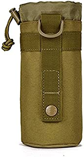 Ultrafun Tactical Water Bottle Holder Pouch Molle Hydration Carrier Holster Nylon Sleeve