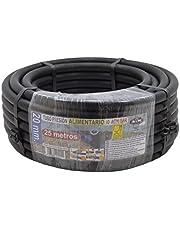 S & M 012211 – PE-buis voedingsindustrie, 20 x 10 ATM – 25 m, zwart
