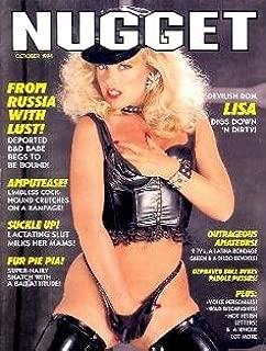Nugget Magazine - October 1994: Bondage, Lactation, Women Wrestling, Catfights & More!