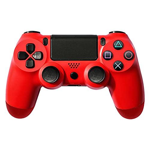 Controlador inalámbrico para mando a distancia PS4, Gamepad inalámbrico para PlayStation 4 PS4 Bluetooth Game Controller (rojo)