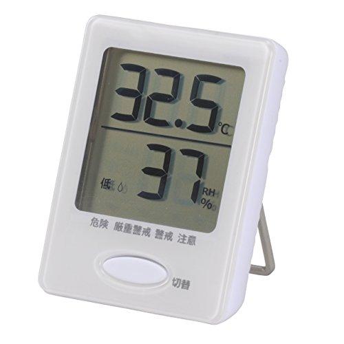 オーム電機 健康サポート機能付き デジタル温湿度計 H...