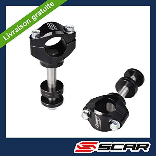 SCAR Pontets Guidon Standard Ø28 pour té de fourche SCAR - Nouveau modèle