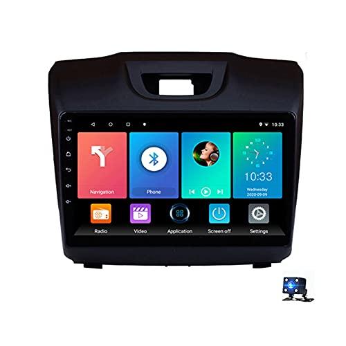 9'Android 10.0 Pantalla Radio Estéreo Para Automóvil Navegación Por Satélite, Para Isuzu D-MAX Chevrolet S10 2015-2018 Soporte Bluetooth WIFI GPS Reproductor Multimedia Autoradio(Color:WiFi 4G+64G)