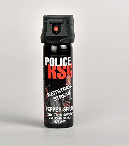 Police RSG Profi-Pfefferspray, Höchst-Konzentrat: 13,2{14c944d0908e230a6334836f20a1f7eb79b7503b203c88480983f15709151f81}, Weitstrahl 63ml - der Power-Spray!