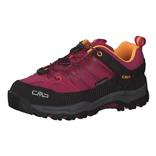 CMP Kinder Trekking Schuhe Rigel Low 3Q54554 Bouganville-Goji 36