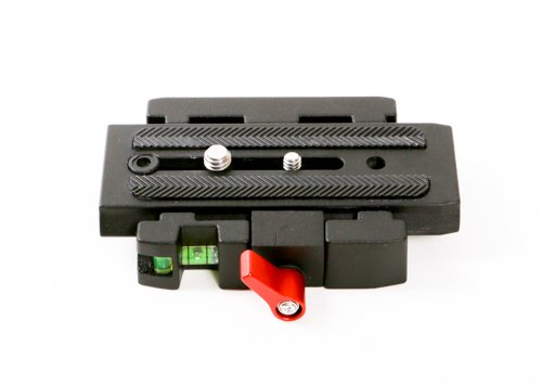 Dolica F200 Plate Adapter with Sliding Mounting Plate (Black)