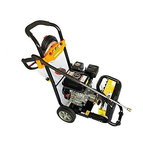 Limpiador de alta presión profesional, motor de gasolina, foco de vapor, 7,5 CV, 3600 RPM, motor OHV