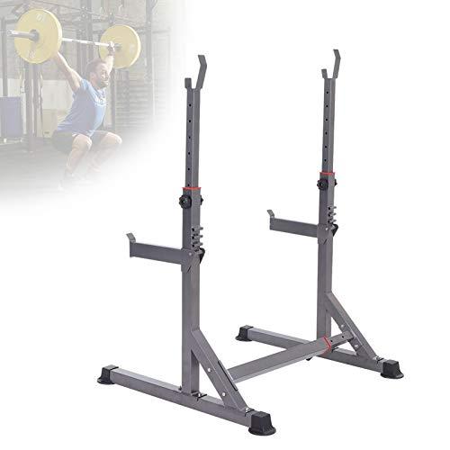Grist CC Soporte De Entrenamiento De Fuerza - Altura Y Ancho Ajustable, Multifuncional Squat Rack Levantamiento De Pesas Rack, para Home Gym