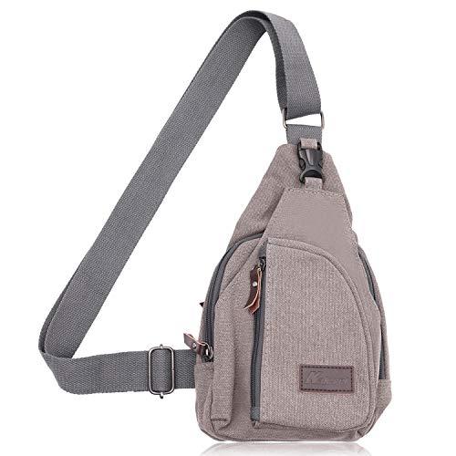 Kalevel Outdoor Sports Travel Crossbody Backpack Casual Shoulder Chest Bag