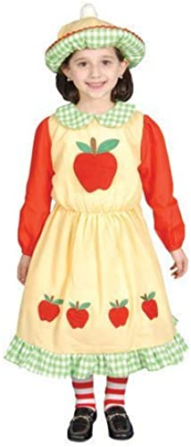 Deluxe ApÃle Dress Costume Set - Large 12-14 by Dress Up America