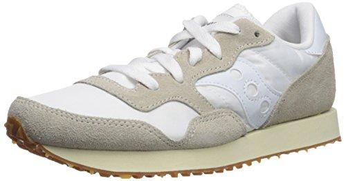 Saucony DXN Trainer Vintage, Zapatillas de Cross Mujer, Blanco (White/Gum 24), 36 EU
