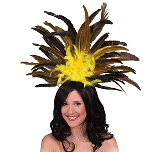 Carnival Headdress Yellow