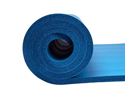 Yoga/Pilates Épais en Mousse NBR Tapis de Sport épais de 15mm (183*61*1.5cm), tapis d'exercice antidérapant et multicolore, tapis de fitness multifonctionnel et non-toxique +1* sac de yoga gratuit
