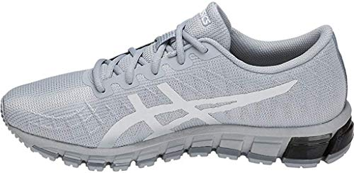 ASICS Men's Gel-Quantum 180 4 Running Shoes, 11M, MID Grey/White