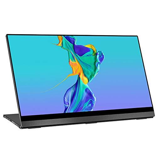 JDLP 4K, tragbarer Monitor Touchscreen Schwerkraft-Sensor Automatische Drehen 15,6 '' flachste 10-Punkt-Noten-UHD 3840x2160 Anzeige