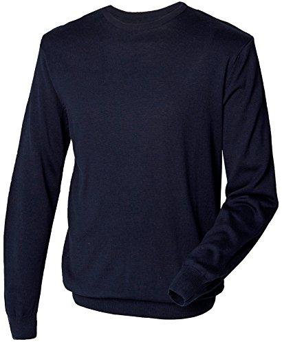 Henbury - Pull - Homme - Bleu - Bleu marine - Xxx-large