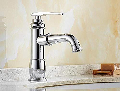 Hohe Chrom Waschbecken Wasserhahn Bad Armatur Antike Badezimmer Waschtisch Armatur Luxus Heiße Und Kalte Waschbecken Wasserhahn Tippen