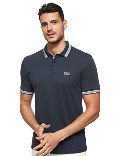 Hugo Boss Herren Paddy Polo Shirt Poloshirt, Navy, Mittel
