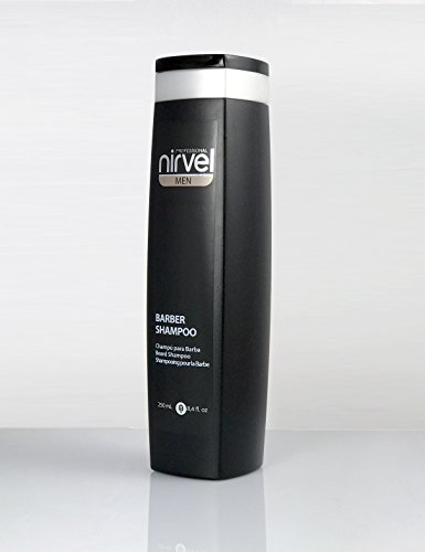 Nirvel Men Champu Para Barba y Bigote Barber Shampoo 250 ml.