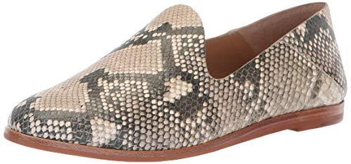 Dolce Vita Women's Azur Oxford, Snake Print Embossed Leather, 7 M US