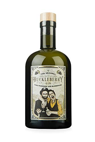 Huckleberry Gin 44% vol (1 x 0.5 l) - Pure Friendship and Blueberries