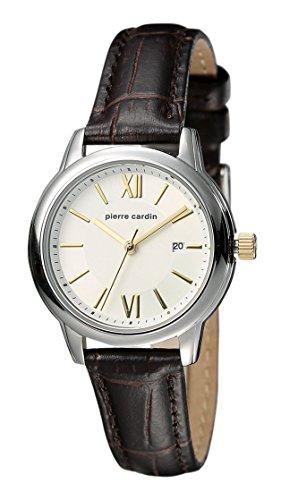 Pierre Cardin Reloj Analogico para Mujer de Cuarzo con Correa en Cuero PC901852F02