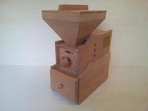 Getreidemühle WIDU Universalmühle Mod. III aus Buchenholz