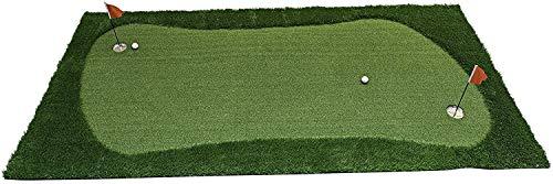 JEF World of Golf Professional Large Realistic Putting Training Mat, 3 Feet by 10 Feet