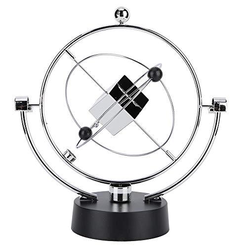 Raguso Columpio magnético cinético Orbital artesanía decoración de Escritorio péndulo de Newton Juguetes de descompresión para decoración de Oficina en casa Adorno de Escritorio de Arte