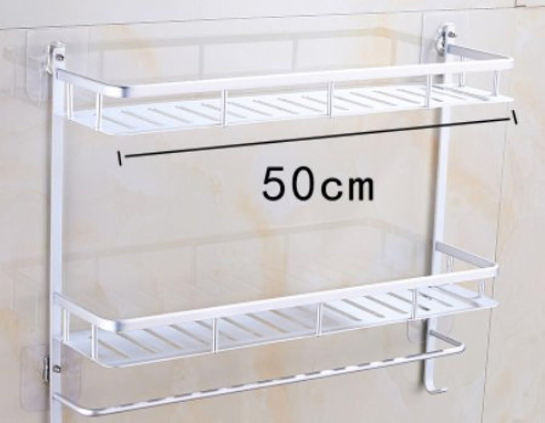 SHAN-Punch-free suction wall wc ,b50cm racks