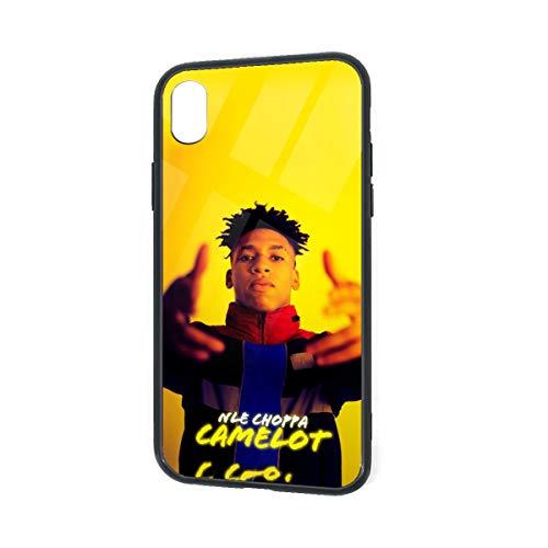Nle-Choppa Phone Case for iPhone Xr Case,iPhone Xr Case,TPU Tempered Glass Phone Case for iPhone Xr Case