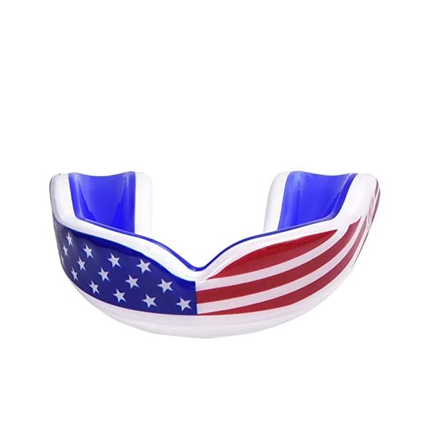 Oral Mart Sports Youth Mouth Guard for Kids (13 Best Colors & USA Flag &...