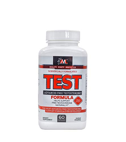 Advanced Molecular Labs - TEST, Helps Support Free Testosterone Naturally, Helps Combat Cortisol, Testosterone Booster for Men, 60 Capsules (Aml Monitoring Best Practices)