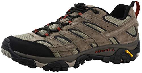 Merrell Males's Moab 2 Vent Hiking Shoe, Bark Brown, 8 M thumbnail