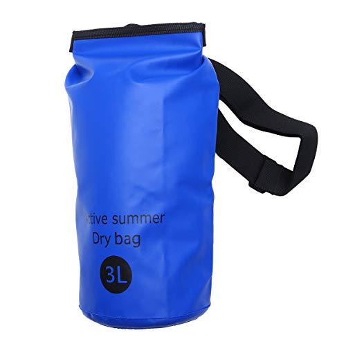 FENICAL 3L Mehrzweck Open Water Schwimmboje Ultraleichte Sicherheit Float Dry Bag Schwimmer Triathletes Surfers Outdoor (Blau) Einkaufstasche Geschenk