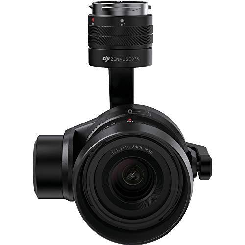 DJI Zenmuse X5S Kompakte Kamera (mit 12,8-Blenden-Dynamikbereich, integriertem und erweitertem Micro 4/3 20,8-Megapixel-Sensor, bis zu 8 professionellen Objektiven, mit CineCore 2.0 System)