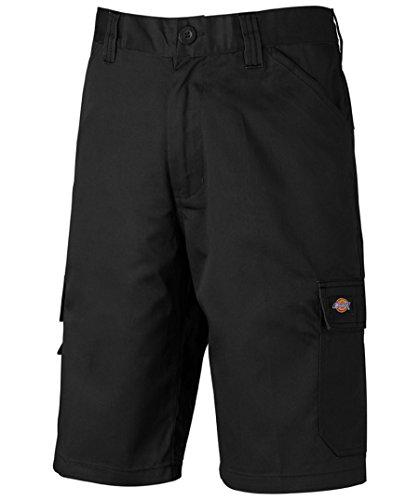 Dickies ED24/7 Shorts 2 Schenkeltaschen Kurze Hose (56, schwarz/schwarz)