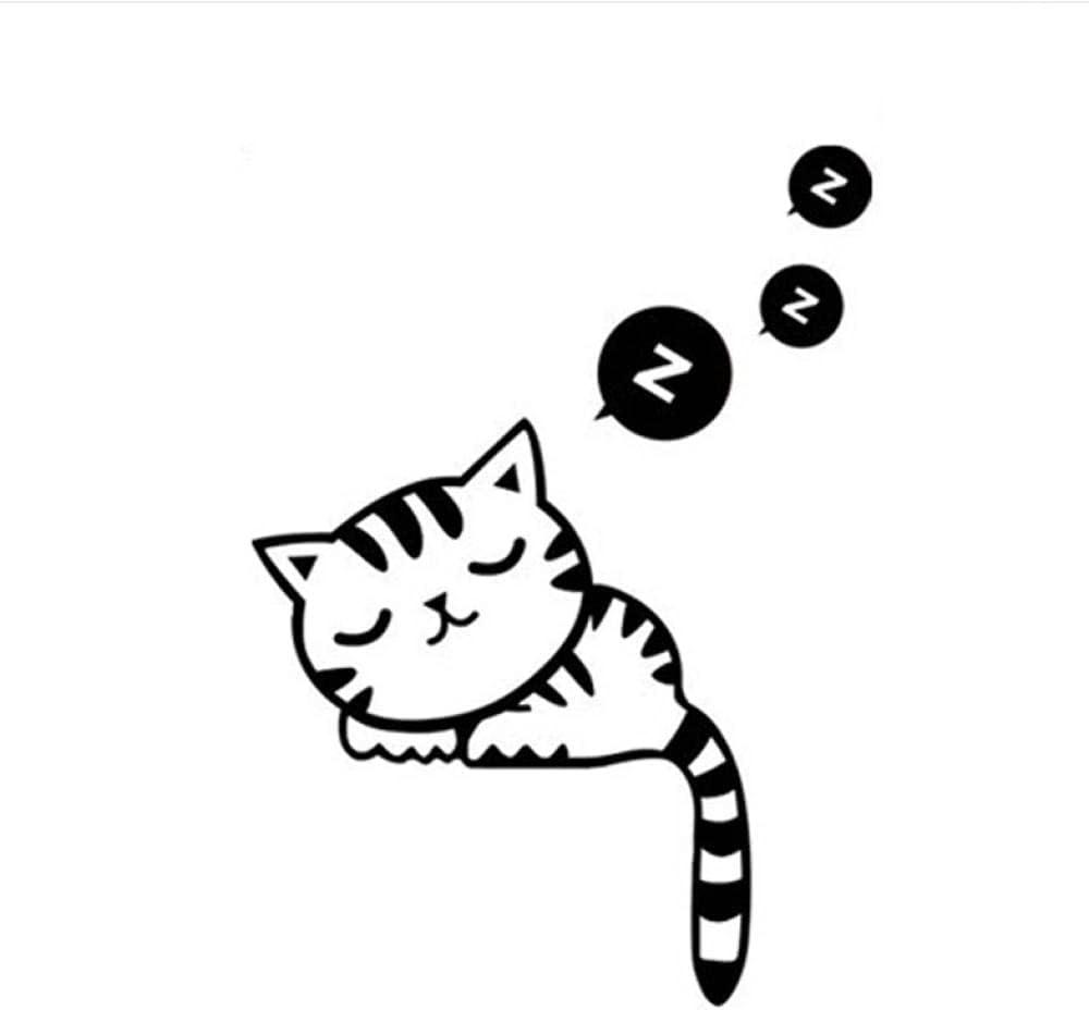 AGhsjdhjdb Cartoon Removable Cute Lovely Sleep Recommendation Black Soldering Cat Socket