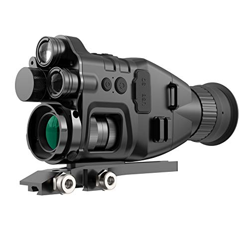 Digital Infrared Night Vision Scope with Camera&Video, 850nm&940nm HD for Total Darkness Hunting, Day/Night Monocular Telescopefor 100% Darkness Outdoor Hunting,Night Vision Goggles
