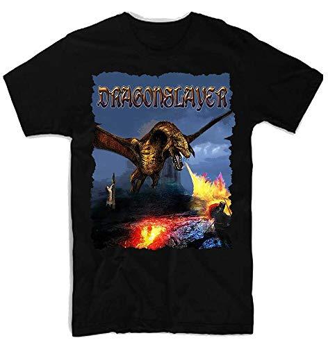 ATAT-1 Dragonslayer Movie 100% Cotton Men's T-Shirt