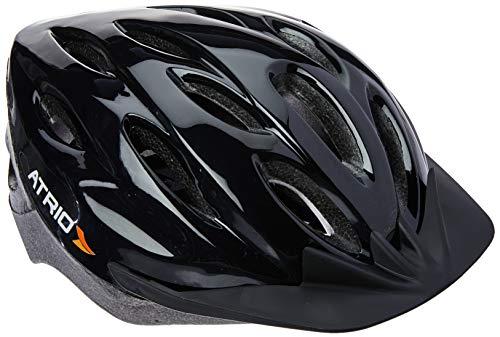 Capacete para Ciclismo MTB Tam. M Alças Ajustáveis e 19 Entradas de Ar Preto - BI002 Atrio