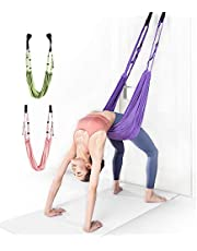 LDT ヨガベルト yoga フィットネスバンド 筋トレ バンド ピラティスのトレーニングデバイス エクササイズ ダンス 大人と子供が使用できます 3色ご用意
