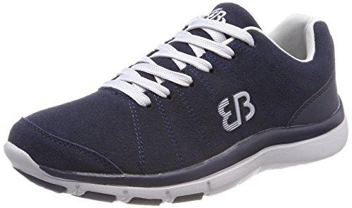 Brütting Dallas Herren Sneaker, Marine/ Grau, 43 EU