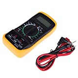 LCD Digital Multimeter Voltmeter Ammeter AC DC OHM Current Circuit Buzzer Tester for Circuit Boards Auto...