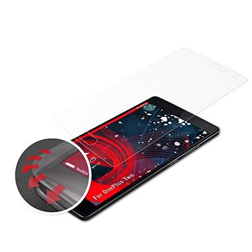 atFolix Schutzfolie kompatibel mit OnePlus Two Folie, entspiegelnde & Flexible FX Bildschirmschutzfolie (3X)
