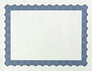 Great Papers! 金属证书框,8.5 英寸(约 21.6 厘米)*11 英寸(约 27.9 厘米) 100 只 100份 蓝色